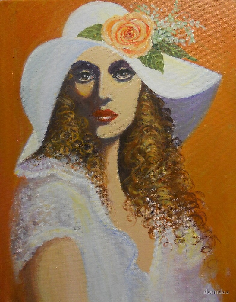 LADY FROM A ROMANTIC ERA by donndaa