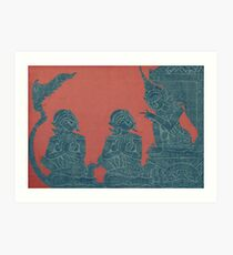 Ancient Lesson Art Print