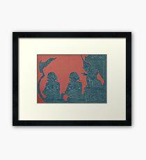 Ancient Lesson Framed Print