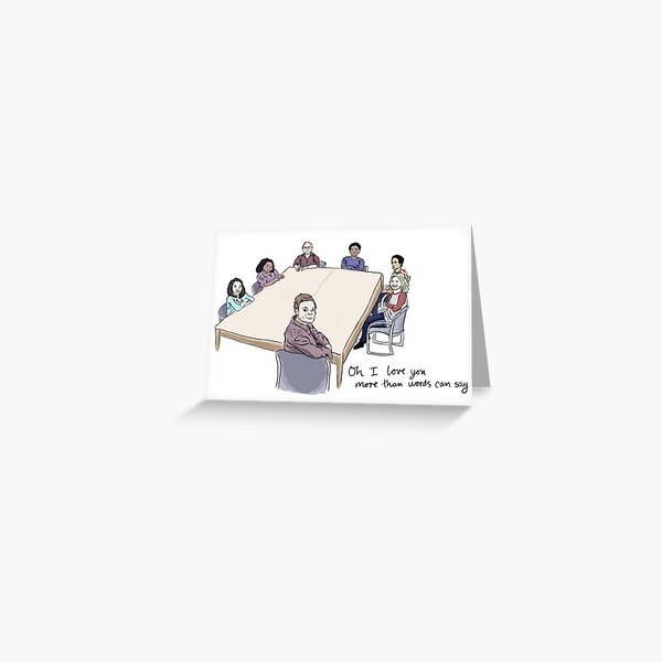 Study Group Greeting Card