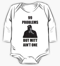 99 Problems But Mitt Ain't One (HD) One Piece - Long Sleeve