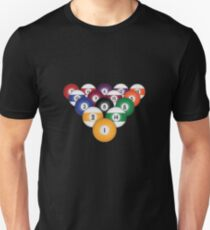 Billiards / Pool Balls Unisex T-Shirt