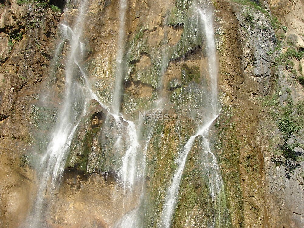 Big waterffals of Plitvice II. - force of the water by Natas