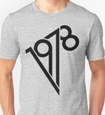 1978 Black Unisex T-Shirt