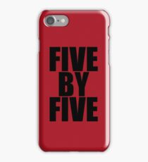 Five by five (Case) iPhone Case/Skin