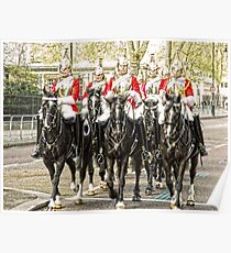All the Queens Horses Poster