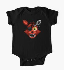Adventure Withered Foxy - FNAF World - Pixel Art Kids Clothes