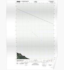 USGS Topo Map Washington State WA Slip Point 20110429 TM Poster