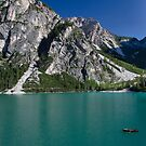 Lago Di Braies, Northern Italy by David Galson