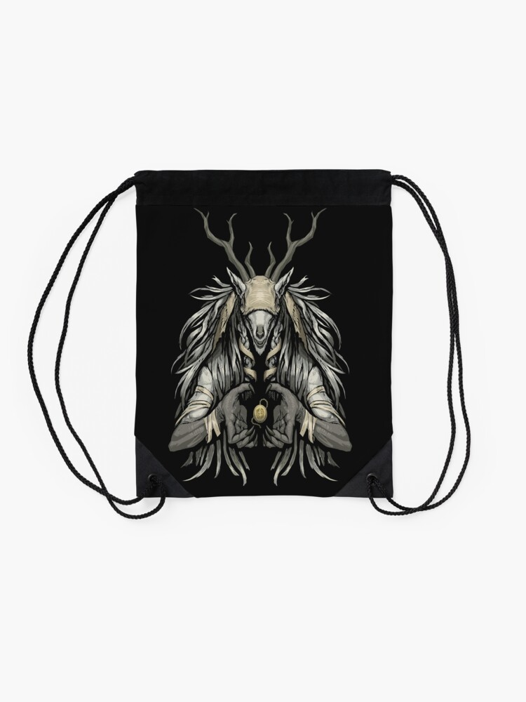 Alternate view of The Supplicant Drawstring Bag