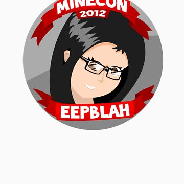 Eeepblah Minecon Sticker by FinsGraphics