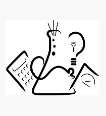 Science Fair Logo Photographic Print