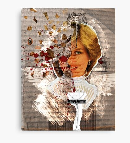 Icons: Lady Crash Canvas Print