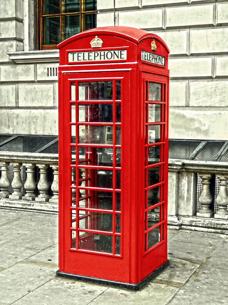 Whitehall Phone Box by DavidWHughes