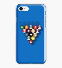 Billiards / Pool Balls iPhone Case/Skin