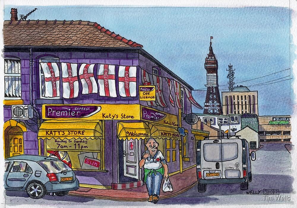 corner shop by Tim Wells