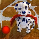 Let's Play, Dalmation Puppy, by Alma Lee by Alma Lee