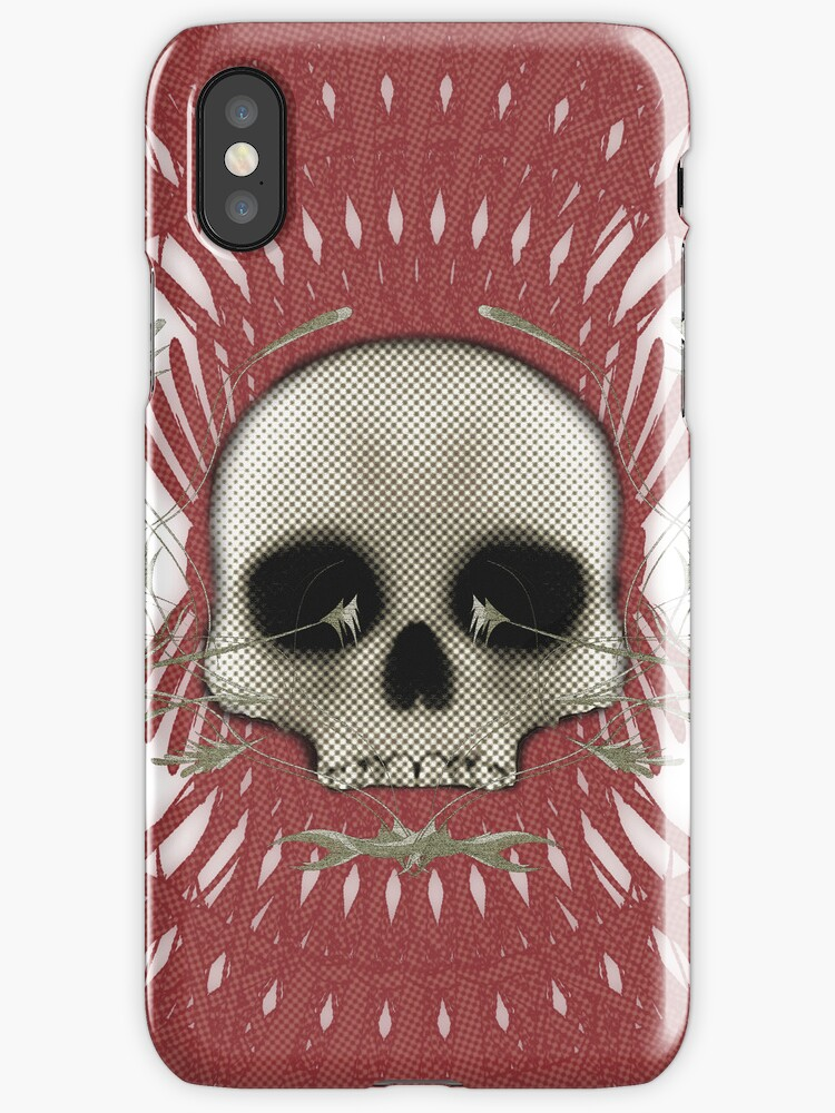 Skull with Tribal Graphics by bradyarnold