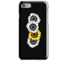 Iphone Case Sunflowers - Midnight Black iPhone Case/Skin