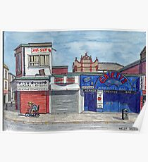 Gaiety Bar and chippy Poster