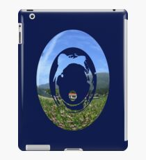through a football's eyes iPad Case/Skin