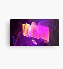 Purple Organza Metal Print