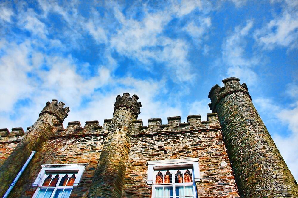 Greeba Castle, Isle of Man by Somerset33