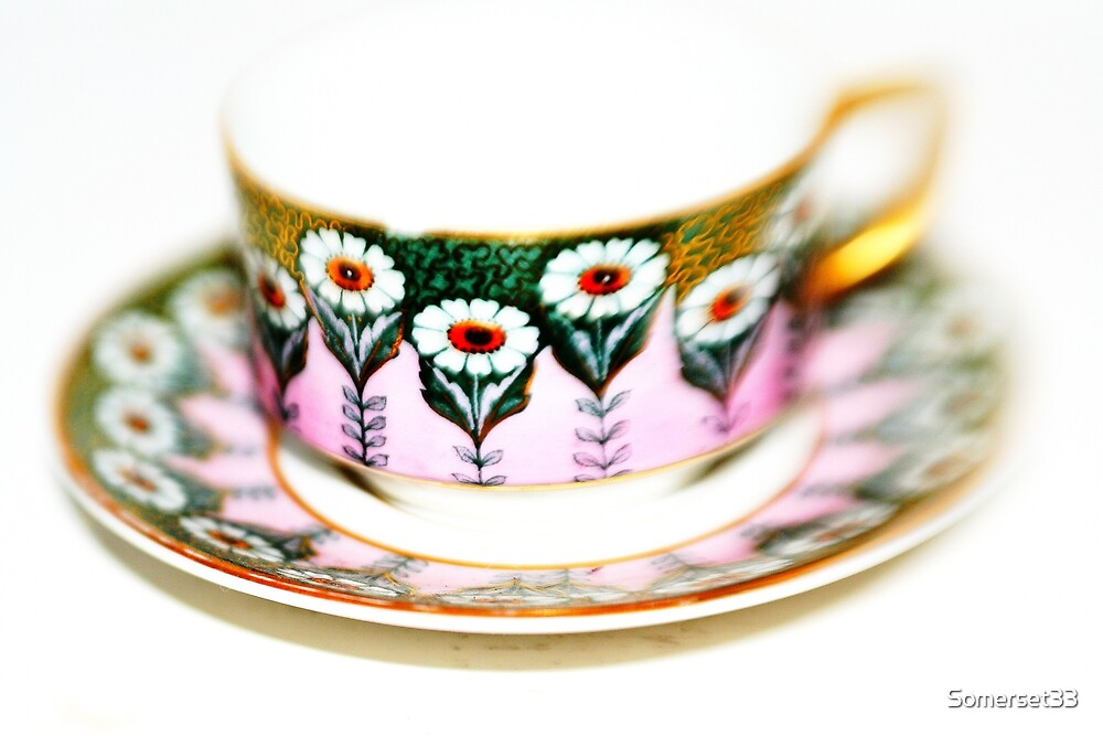 Art Deco Cup & Saucer by Somerset33