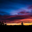 Colorful sunset with dramatic clouds by Mario Cehulic
