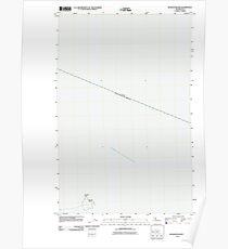 USGS Topo Map Washington State WA Waadah Island 20110616 TM Poster
