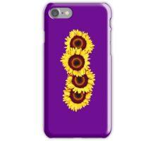 Iphone Case Sunflowers - Purple Haze iPhone Case/Skin