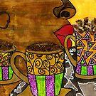 I'll Take Three Cups of Java Please by © Angela L Walker
