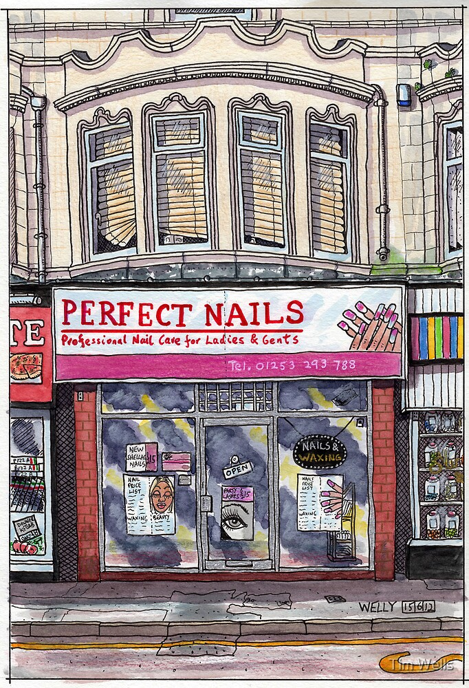 perfect nails by Tim Wells