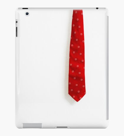 Red Tie iPad Case/Skin