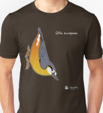 Sitta europaea Unisex T-Shirt