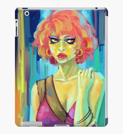 Green Woman iPad Case/Skin