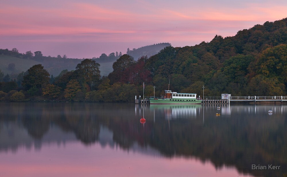 The First Colours Of Morning by Brian Kerr