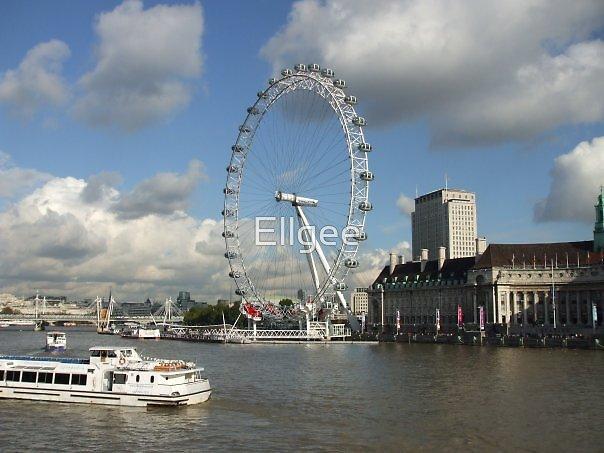 The London Eye by Ellgee