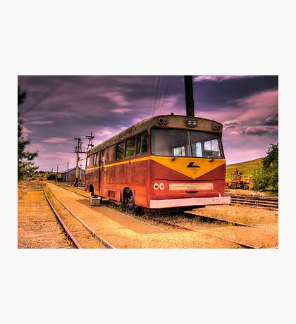 Cooma Railway Station Pay Bus/Train Photographic Print