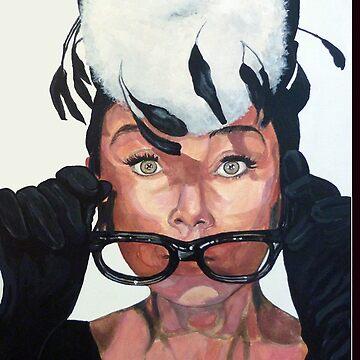Audrey Hepburn by donnaroderick