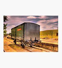 Explosives Wagon Cooma Railway NSW Photographic Print