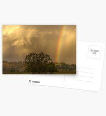 Stormy Sunset Postcards