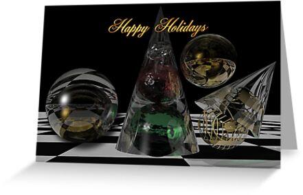 December magic Holidays card by walstraasart