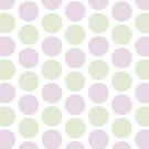 Purple Green Dots by Mariana Musa