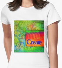 CREATE Women's Fitted T-Shirt