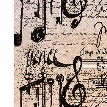 Musical Notes iphone case # 3  by Lucindawind