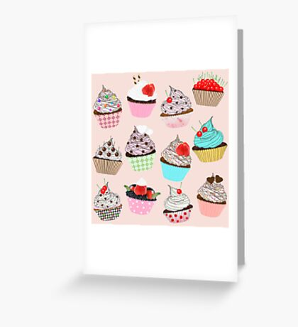 cupcakes Greeting Card