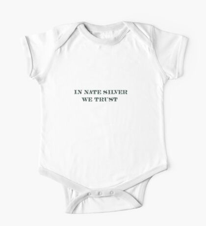 In Nate Silver We Trust T-Shirt Kids Clothes