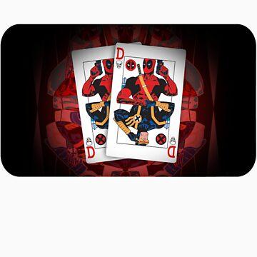 Deadpool Cards by lasekx