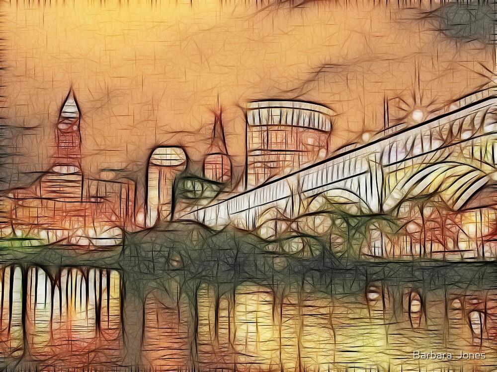 Cleveland Lakeside by Barbara  Jones